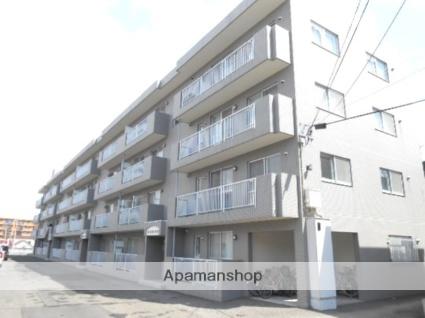 北海道札幌市豊平区、南平岸駅徒歩12分の築19年 4階建の賃貸マンション