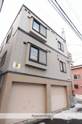 北海道札幌市豊平区、菊水駅徒歩13分の築18年 3階建の賃貸アパート