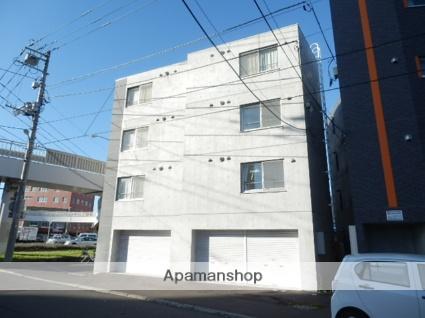 北海道札幌市白石区、菊水駅徒歩7分の築8年 4階建の賃貸マンション