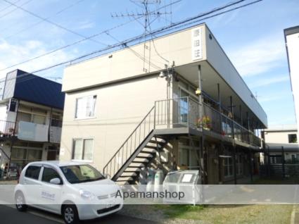 北海道札幌市豊平区、南郷7丁目駅徒歩13分の築42年 2階建の賃貸アパート
