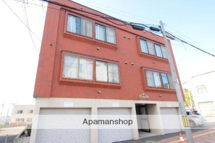 北海道札幌市豊平区、美園駅徒歩14分の築15年 3階建の賃貸アパート