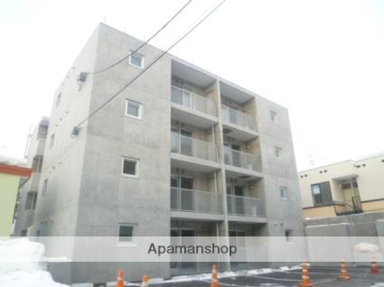 北海道札幌市豊平区、平岸駅徒歩14分の築4年 4階建の賃貸マンション