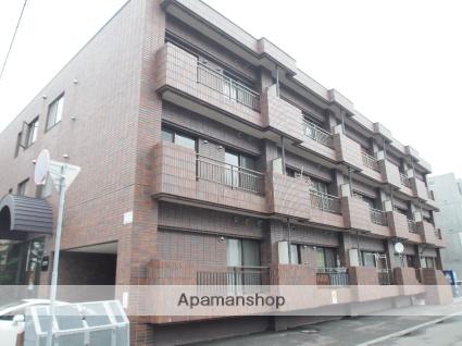 北海道札幌市豊平区、中の島駅徒歩14分の築30年 3階建の賃貸マンション