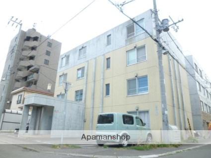 北海道札幌市豊平区、白石駅徒歩16分の築10年 4階建の賃貸マンション