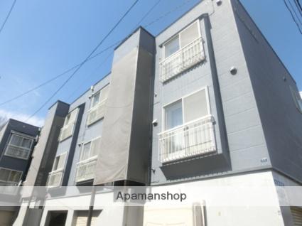 北海道札幌市豊平区、南平岸駅徒歩18分の築24年 3階建の賃貸アパート
