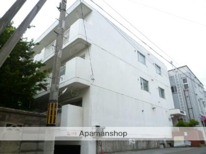 北海道札幌市豊平区、平岸駅徒歩10分の築37年 3階建の賃貸マンション
