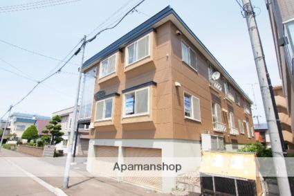 北海道札幌市豊平区、白石駅徒歩13分の築29年 2階建の賃貸アパート