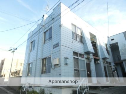 北海道札幌市南区、南平岸駅徒歩18分の築40年 2階建の賃貸アパート