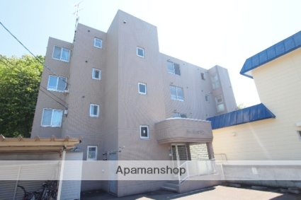 北海道札幌市豊平区、豊平公園駅徒歩17分の築20年 4階建の賃貸マンション