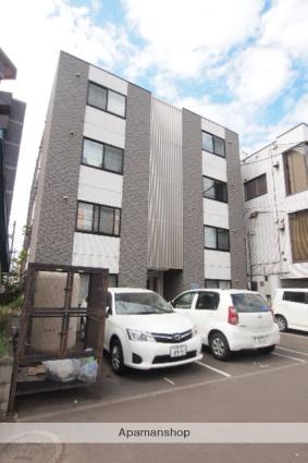 北海道札幌市白石区、バスセンター前駅徒歩17分の築9年 4階建の賃貸マンション
