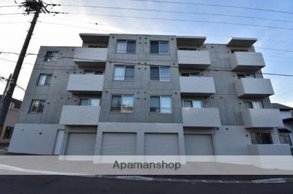 北海道札幌市南区、澄川駅徒歩13分の新築 4階建の賃貸マンション
