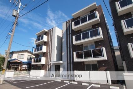 北海道札幌市白石区、苗穂駅徒歩10分の新築 4階建の賃貸マンション