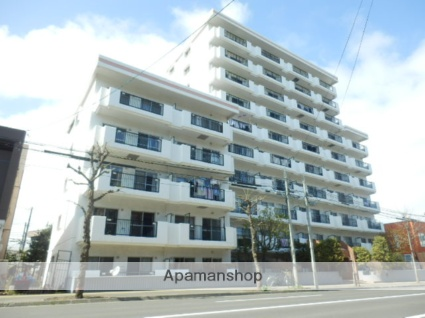 北海道札幌市豊平区、平岸駅徒歩17分の築35年 10階建の賃貸マンション