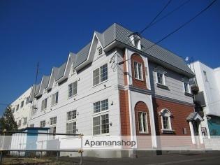 北海道札幌市豊平区、中の島駅徒歩13分の築29年 2階建の賃貸アパート