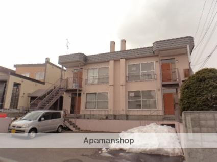 北海道札幌市豊平区、南郷18丁目駅徒歩10分の築32年 2階建の賃貸アパート