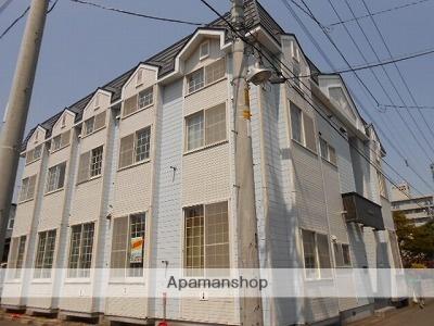 北海道札幌市豊平区、澄川駅徒歩18分の築27年 2階建の賃貸アパート