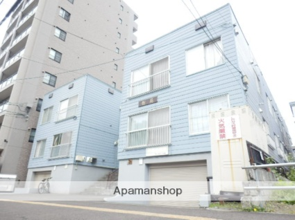 北海道札幌市豊平区、学園前駅徒歩15分の築33年 3階建の賃貸アパート