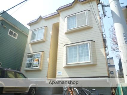 北海道札幌市豊平区、豊平公園駅徒歩10分の築27年 2階建の賃貸アパート