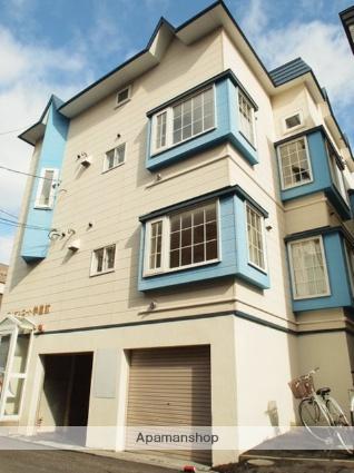 北海道札幌市豊平区、平岸駅徒歩13分の築26年 3階建の賃貸アパート