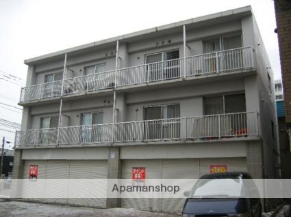 北海道札幌市豊平区、菊水駅徒歩10分の築19年 3階建の賃貸マンション