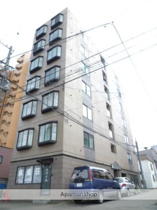 北海道札幌市豊平区、菊水駅徒歩7分の築27年 7階建の賃貸マンション