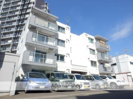 北海道札幌市豊平区、東札幌駅徒歩17分の築25年 4階建の賃貸マンション