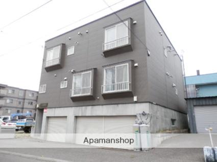 北海道札幌市豊平区、白石駅徒歩19分の築29年 3階建の賃貸アパート