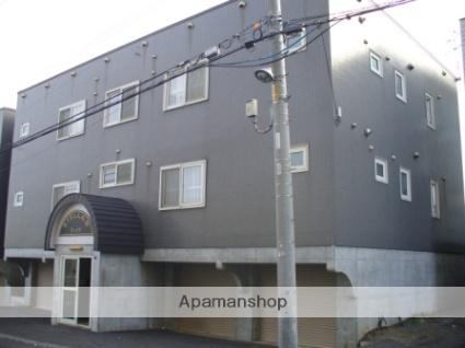 北海道札幌市西区、発寒駅徒歩8分の築17年 3階建の賃貸アパート