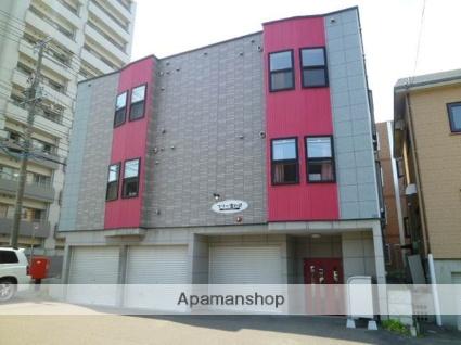 北海道札幌市西区、発寒駅徒歩13分の築11年 3階建の賃貸アパート
