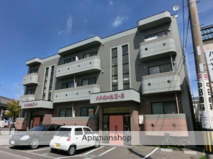北海道札幌市西区、八軒駅徒歩9分の築11年 3階建の賃貸マンション