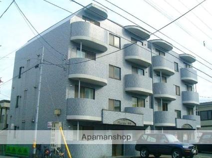 北海道札幌市西区、発寒南駅徒歩9分の築20年 4階建の賃貸マンション