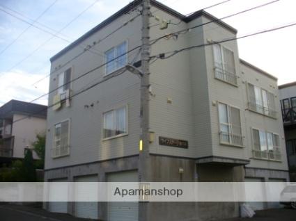 北海道札幌市西区、宮の沢駅徒歩20分の築23年 3階建の賃貸アパート