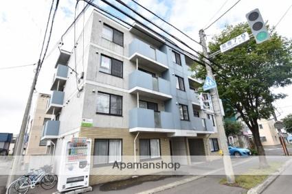 北海道札幌市西区、発寒中央駅徒歩13分の築10年 4階建の賃貸マンション