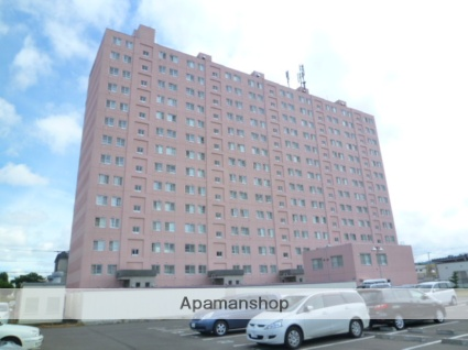 北海道札幌市西区、発寒中央駅徒歩18分の築20年 14階建の賃貸マンション