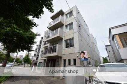 北海道札幌市西区、発寒中央駅徒歩15分の築3年 4階建の賃貸マンション