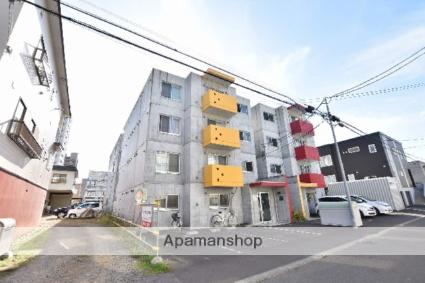 北海道札幌市西区、琴似駅徒歩10分の築12年 4階建の賃貸マンション