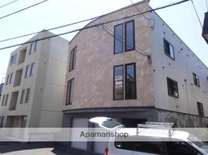 北海道札幌市西区、琴似駅徒歩9分の築14年 3階建の賃貸アパート