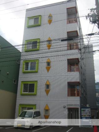 北海道札幌市中央区、西11丁目駅徒歩12分の築27年 5階建の賃貸マンション