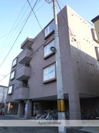 北海道札幌市中央区、西11丁目駅徒歩13分の築19年 4階建の賃貸マンション