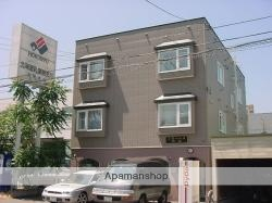 北海道札幌市中央区、西28丁目駅徒歩10分の築16年 3階建の賃貸アパート