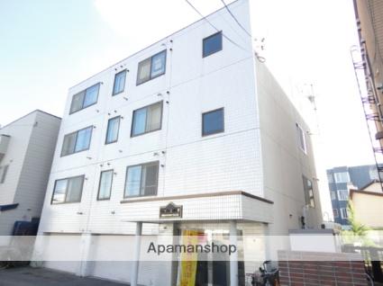 北海道札幌市西区、琴似駅徒歩11分の築28年 4階建の賃貸マンション