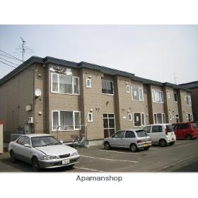 北海道札幌市西区、八軒駅徒歩6分の築20年 2階建の賃貸アパート