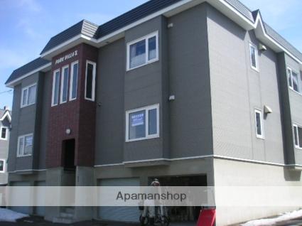 北海道札幌市西区の築21年 3階建の賃貸アパート