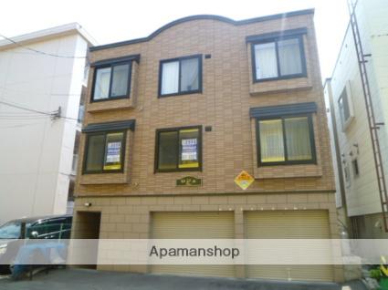 北海道札幌市西区、琴似駅徒歩17分の築10年 3階建の賃貸アパート