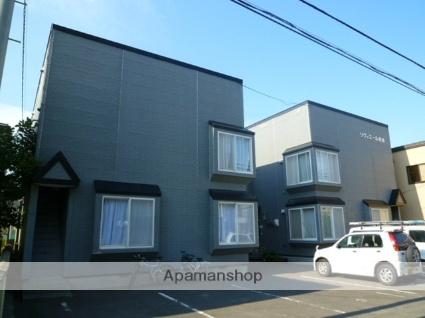北海道札幌市西区、発寒中央駅徒歩13分の築18年 2階建の賃貸アパート