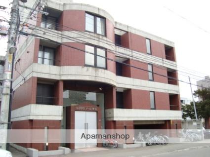 北海道札幌市西区、琴似駅徒歩7分の築27年 4階建の賃貸マンション