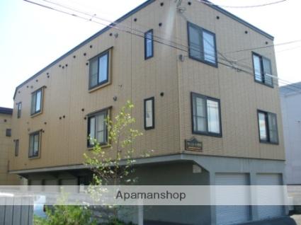 北海道札幌市西区、宮の沢駅徒歩12分の築12年 3階建の賃貸アパート