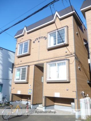 北海道札幌市西区、八軒駅徒歩10分の築25年 2階建の賃貸アパート