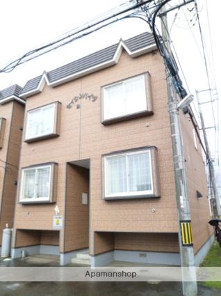 北海道札幌市西区、八軒駅徒歩10分の築26年 2階建の賃貸アパート