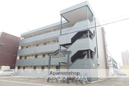 北海道札幌市北区、新琴似駅徒歩5分の築28年 4階建の賃貸マンション